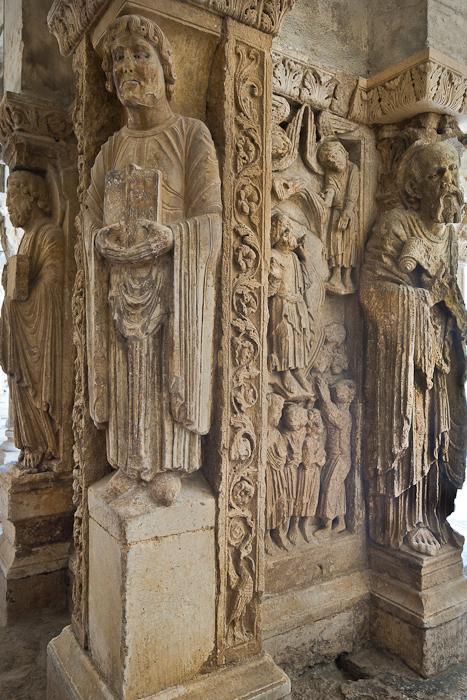 Saints Andrew, Stephen, and Paul, Cathédrale Saint-Trophime (Photo by PJ McKey)