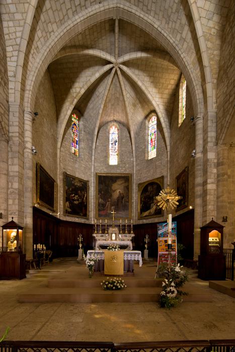 Choir, Abbaye de Saint-Gilles, Saint-Gilles-du-Gard (Bouches-du-Rhône)  Photo by Dennis Aubrey