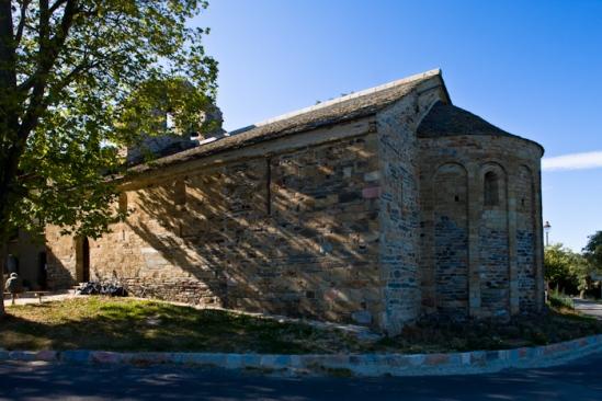 Chapelle de la Trinité, Prunet-et-Belpuig (Pyrénées-Orientales)  Photo by Dennis Aubrey