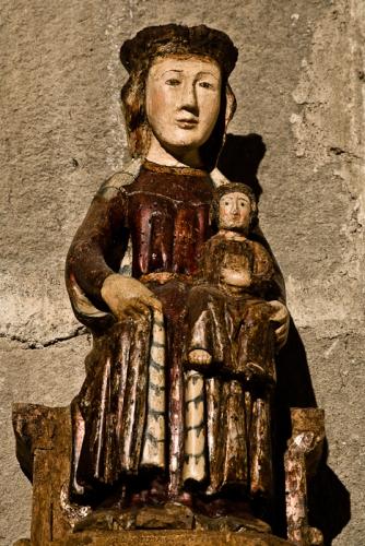 Notre Dame de la Crêche, Eglise Sainte-Marie à Corneilla-de-Conflent, Corneilla-de-Conflent (Pyrénées-Orientales) Photo by PJ McKey