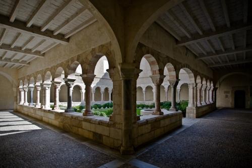Cloister, Église Saint Michel, Saint-Génis-des-Fontaines (Pyrénées-Orientales) Photo by PJ McKey