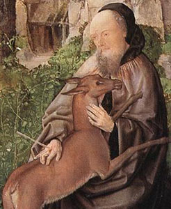 Saint Giles, by the Master of Saint Giles (Image in the Public Domain)