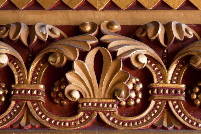 Library detail, Palais du Tau, Angers (Maine-et-Loire) Photo by Dennis Aubrey