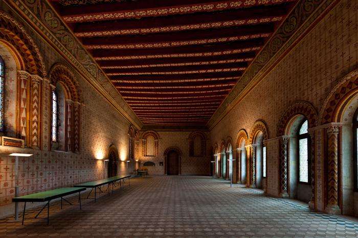 Salle de Justice, Palais du Tau, Angers (Maine-et-Loire) Photo by Dennis Aubrey