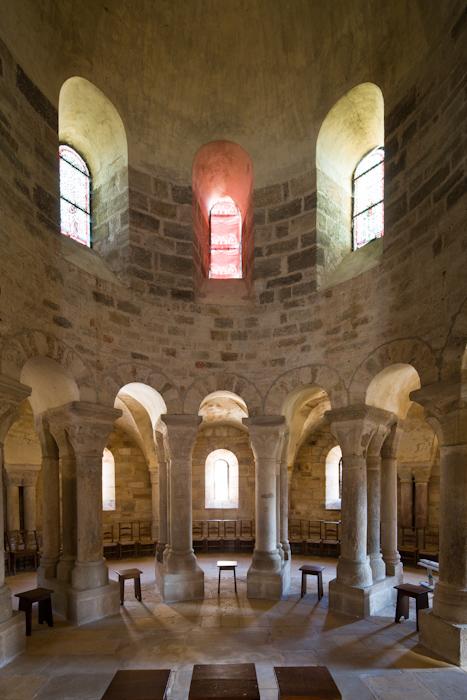 Apse, Église Notre-Dame-de-la-Nativité, Bois-Sainte-Marie (Saône-et-Loire)  Photo by Dennis Aubrey