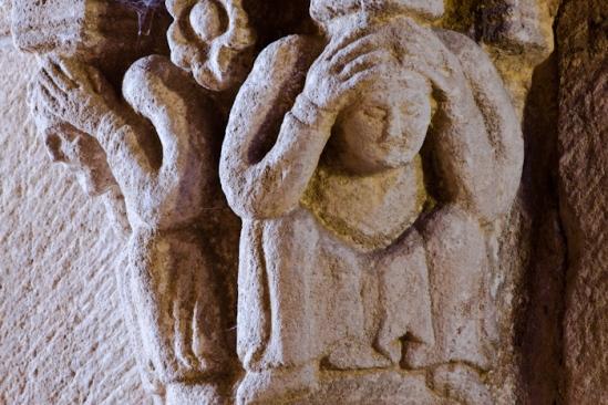 Despair, Église Notre-Dame-de-la-Nativité, Bois-Sainte-Marie (Saône-et-Loire)  Photo by Dennis Aubrey