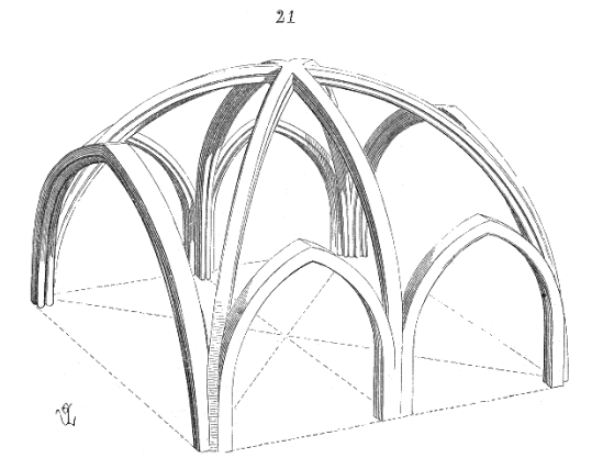 Angevin Gothic arch, courtesy of Patrimoine de France
