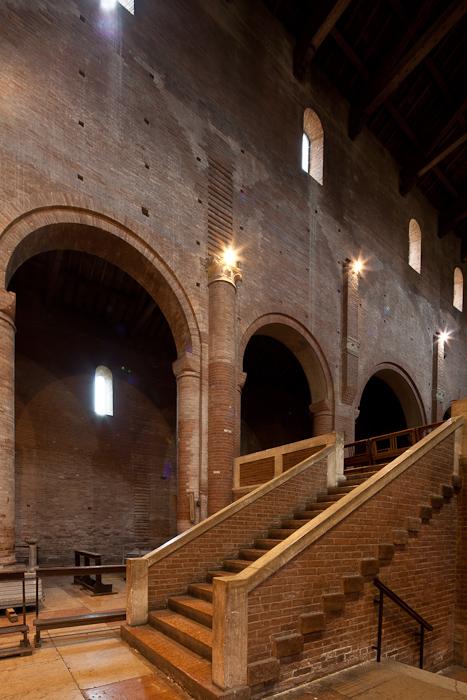 Abbazia di San Silvestro, Nonantola (Emilia-Romagna)  Photo by Dennis Aubrey
