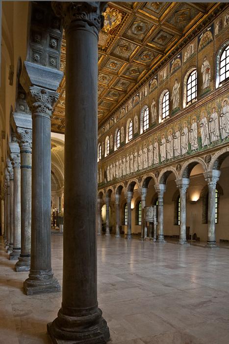 Basilica di Sant'Apollinare Nuovo, Ravenna (Emilia-Romagna)  Photo by PJ McKey