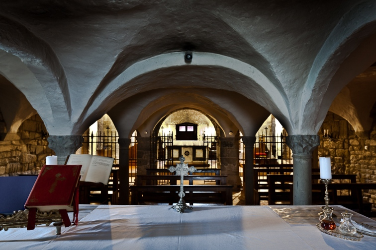 Crypt, Abbazia di San Godenzo, San Godenzo (Toscana)  Photo by PJ McKey