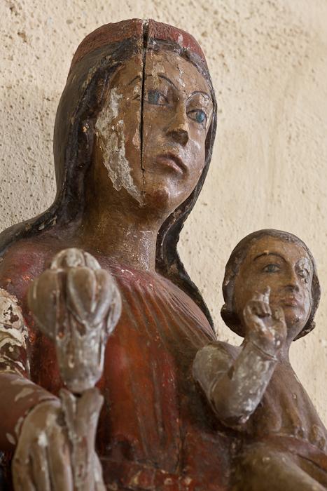 Notre Dame de Montboonnet, Chapelle Saint-Roch-de-Montbonnet, Bains (Haute-Loire)  Photo by Dennis Aubrey