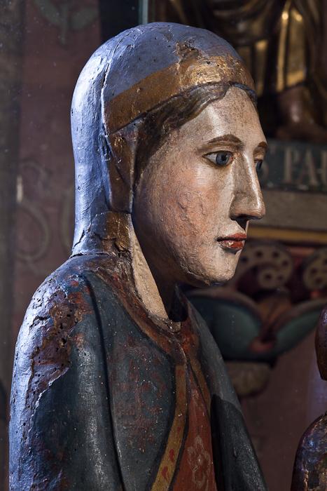 Notre Dame de Courpière, Église Saint-Martin de Courpière, Courpière (Puy-de-Dôme)  Photo by Dennis Aubrey