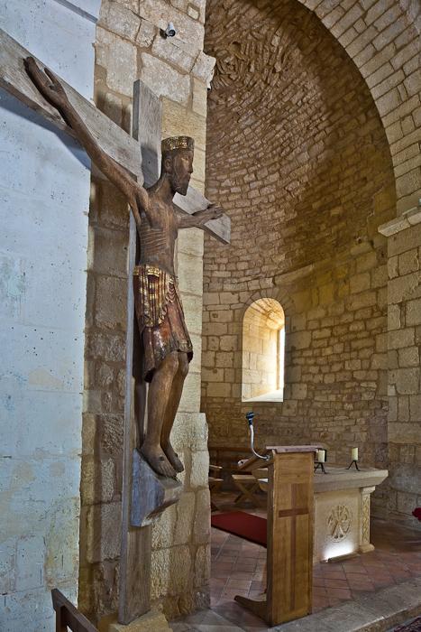 Église Saint-Maurice de Prats-du-Périgord, Prats-du-Périgord (Dordogne)  Photo by PJ McKey