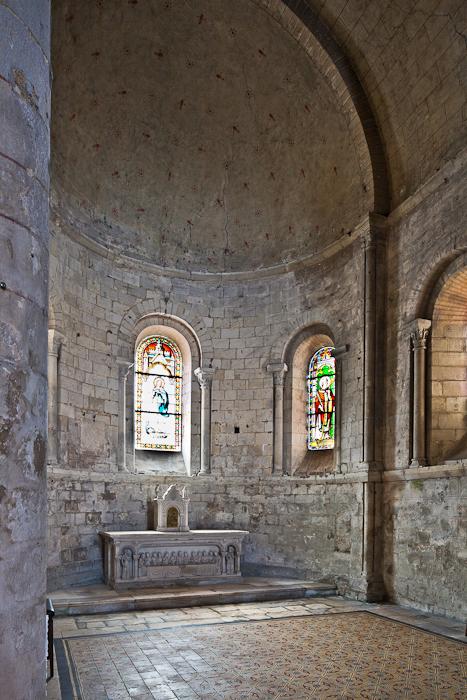 Apse, Église Notre Dame, Chauvigny (Vienne)  Photo by PJ McKey