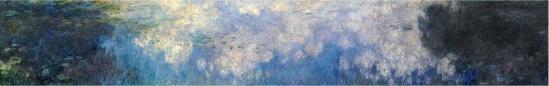 Monet, Les Nuages,  Musée de l'Orangerie (Paris)