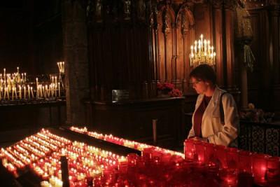 PJ at Notre Dame de Chartres