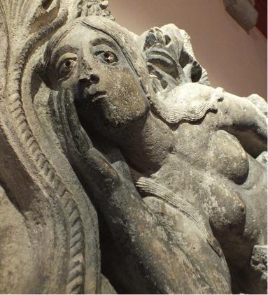 Ève vue de face, Musée Rollin, Autun (Côte-d'Or)  Photographie Internet