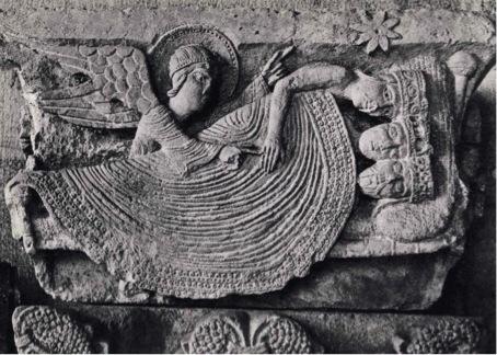 Le sommeil des mages, Cathédrale Saint Lazare, Autun (Côte-d'Or)  Photographie Internet