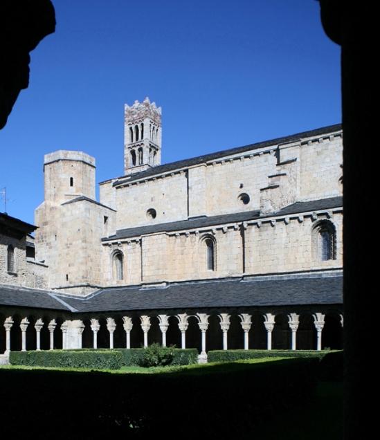 Cloister, Catedral de Santa María de Urgel, Seu d'Urgell (Lleida)  Photo by Jong-Soung Kimm