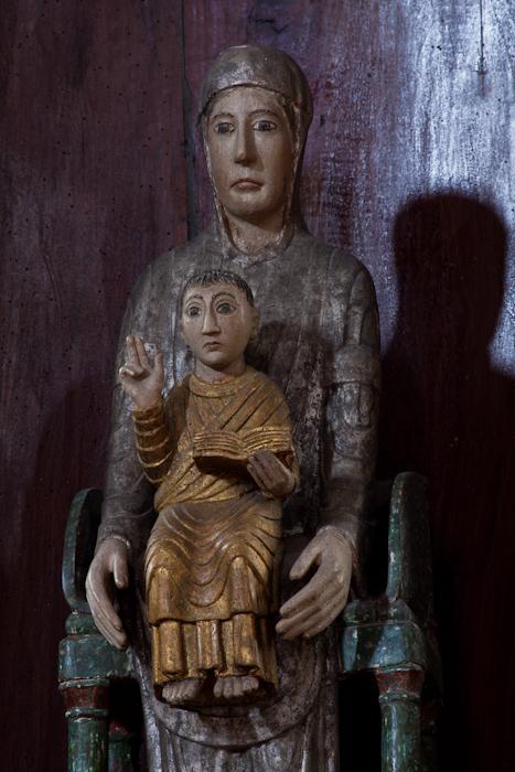 Notre Dame de Chauriat, Photo by Dennis Aubrey