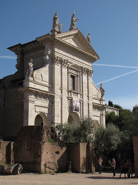 Santa Francesca Romana, Rome.  Photo by Christine Riggle, licensed under the Creative Commons Attribution 2.0 Generic license