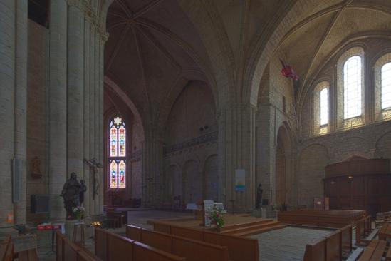 HDR master, Collégiale Saint-Yrieix, Saint-Yrieix-la-Perche (Haute-Vienne)  Photo by Dennis Aubrey