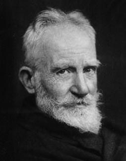 George Bernard Shaw (July 26, 1856 – November 2, 1950)