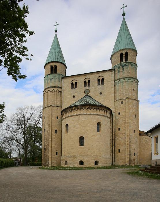 Westwerk, Stiftskirche Saint Cyriakus, Gernrode (Sachsen-Anhalt, Germany)  Photo by Jong-Soung Kimm