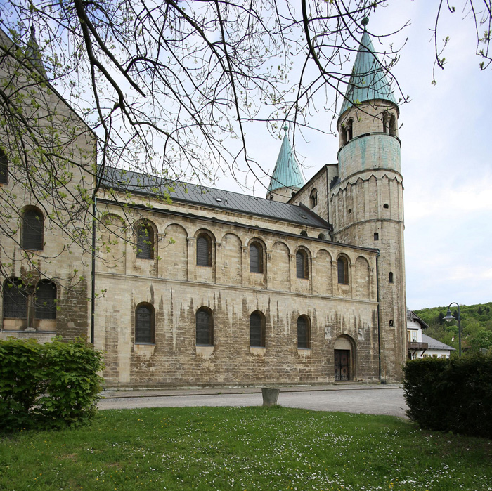 Exterior from north, Stiftskirche Saint Cyriakus, Gernrode (Sachsen-Anhalt, Germany)  Photo by Jong-Soung Kimm