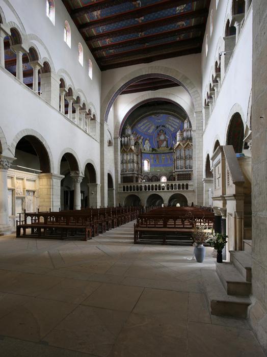 Nave, Stiftskirche Saint Cyriakus, Gernrode (Sachsen-Anhalt, Germany)  Photo by Jong-Soung Kimm