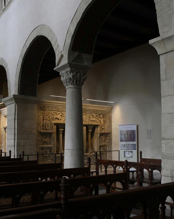 Sculptural ensemble, Stiftskirche Saint Cyriakus, Gernrode (Sachsen-Anhalt, Germany)  Photo by Jong-Soung Kimm