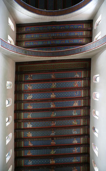 Wooden ceiling, Stiftskirche Saint Cyriakus, Gernrode (Sachsen-Anhalt, Germany)  Photo by Jong-Soung Kimm