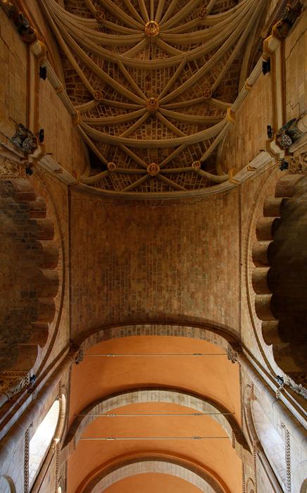 Crossing vault, Basilica of San Isidoro, León (Castile-León) Photo by Jong-Soung Kimm