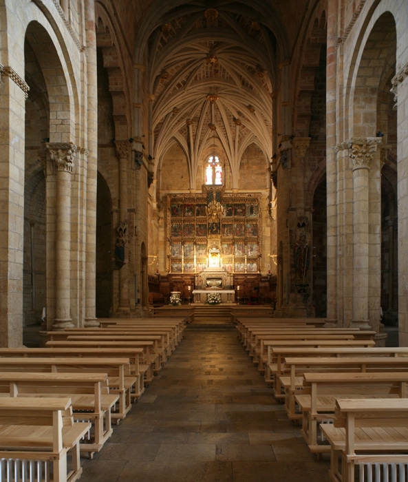 Apse, Basilica of San Isidoro, León (Castile-León) Photo by Jong-Soung Kimm