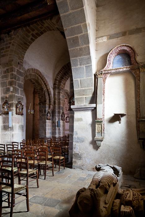 Sarcophagus, Église Saint-Étienne, Lubersac (Corrèze)  Photo by PJ McKey