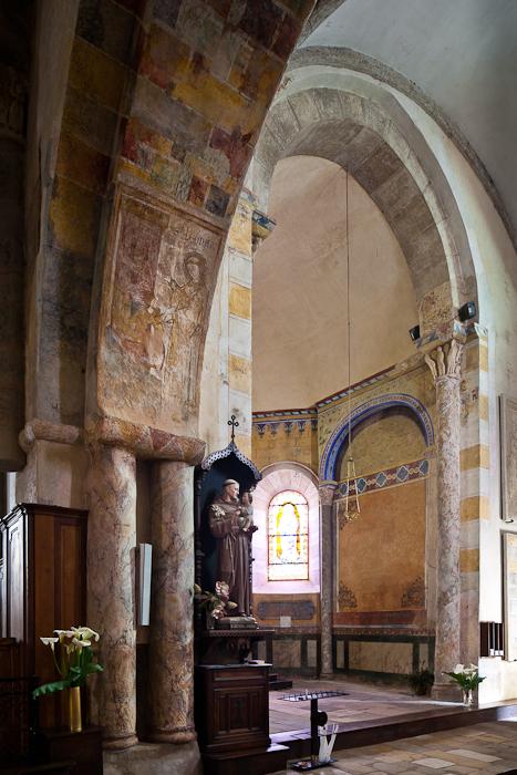 Apse, Église Saint-Étienne, Lubersac (Corrèze)  Photo by PJ McKey