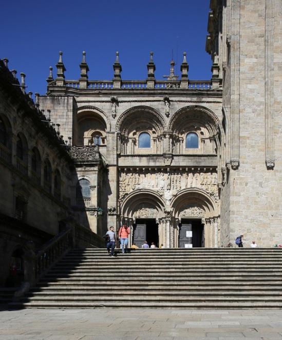 Puerta de las Platerias, Catedral de Santiago de Compostela, Santiago de Compostela (Galicia)  Photo by Jong-Soung Kimm