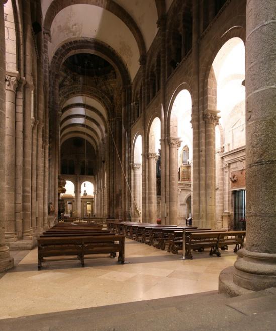 View to south transept, Catedral de Santiago de Compostela, Santiago de Compostela (Galicia)  Photo by Jong-Soung Kimm