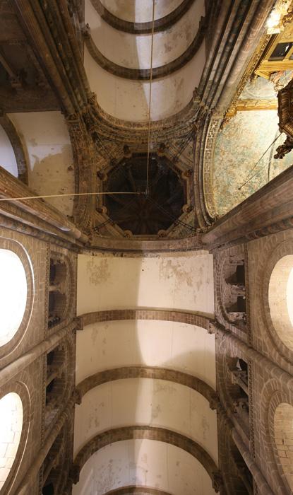 Transept vault, Catedral de Santiago de Compostela, Santiago de Compostela (Galicia)  Photo by Jong-Soung Kimm