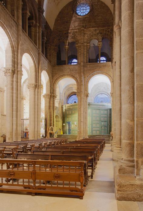 Puerta Francígena, Catedral de Santiago de Compostela, Santiago de Compostela (Galicia) Photo by Jong-Soung Kimm