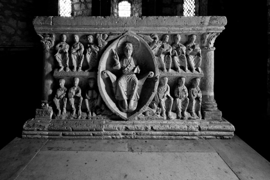 Altar, Église Notre Dame d'Avenas, Avenas (Rhône)  Photo by Dennis Aubrey