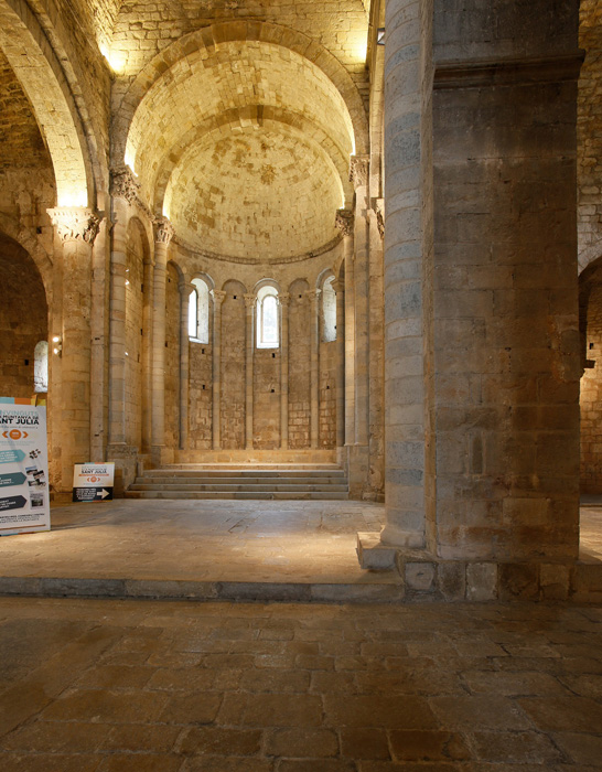 Chancel, Monastir Sant Pere de Galligants, Girona (Girona)  Photo by Jong-Soung Kimm