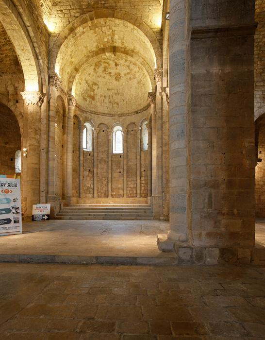 Chancel, Monastir Sant Pere de Galligants, Girona (Girona)  Photo by Jong-Soung Kimm