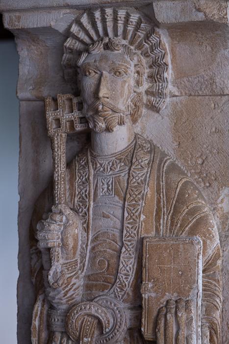 Saint Peter, cloister, Cathédrale Saint Sauveur, Aix-en-Provence (Bouches-du-Rhône)  Photo by Dennis Aubrey