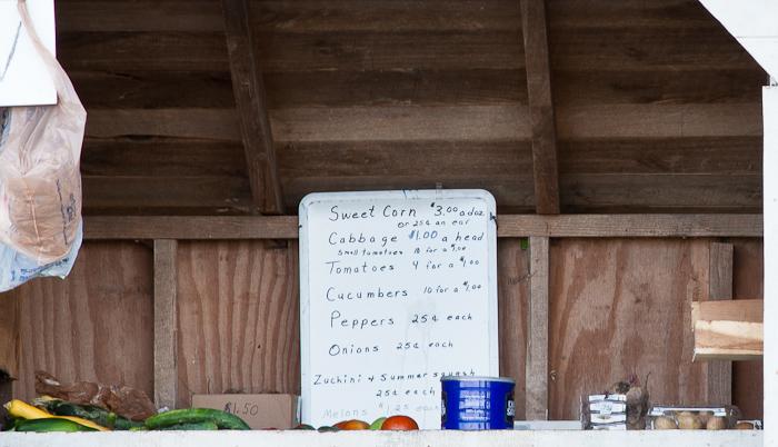 Prices, photo by Dennis Aubrey