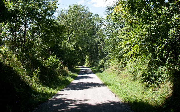 Sacred Heart Road, photo by Dennis Aubrey
