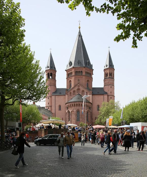 East façade, Mainzer Dom Sankt Martin, Mainz (Rhineland–Palatinate)  Photo by Jong-Soung Kimm