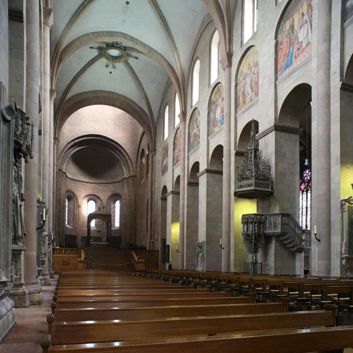 Eastern chancel, Mainzer Dom Sankt Martin, Mainz (Rhineland–Palatinate)  Photo by Jong-Soung Kimm