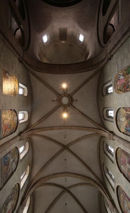 Nave vault, Mainzer Dom Sankt Martin, Mainz (Rhineland–Palatinate)  Photo by Jong-Soung Kimm