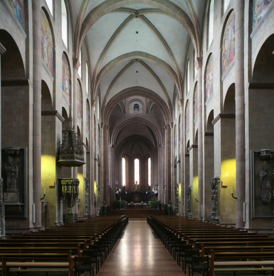 Western chancel, Mainzer Dom Sankt Martin, Mainz (Rhineland–Palatinate)  Photo by Jong-Soung Kimm